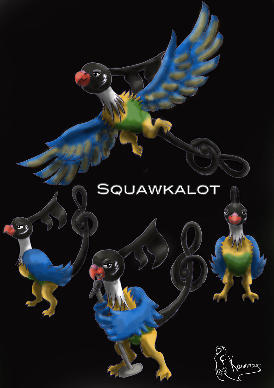 Evolution of Chatot by kanineious on DeviantArt