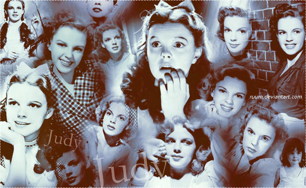 Judy Garland Wall O2 by Ruum