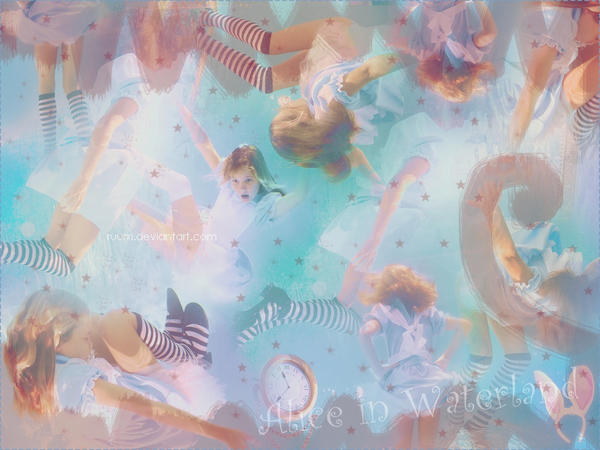Alice in waterland Wall by Ruum