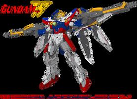 XXXG-00W0 Wing Gundam Zero by trav3000