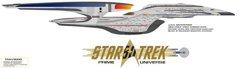 NCC-1701-F U.S.S. Enterprise Iconian Refit