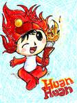 Tegaki E - Fuwa mascot HuanHua