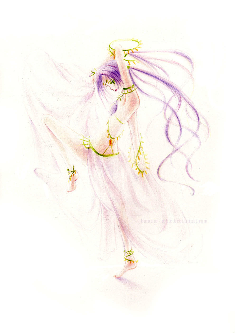 Danseuse by Domino-noble