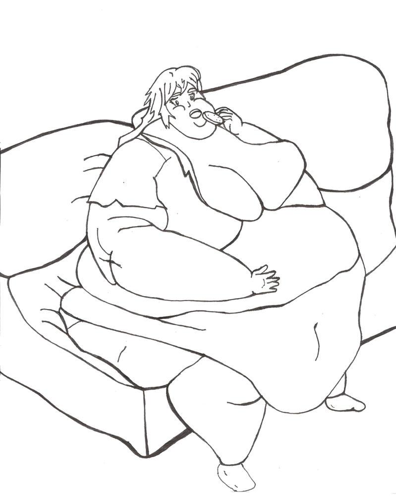 Maria Fat by BlimpGirl
