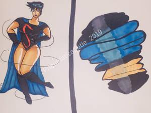 Future Supergirl Cir El Twister Tornado