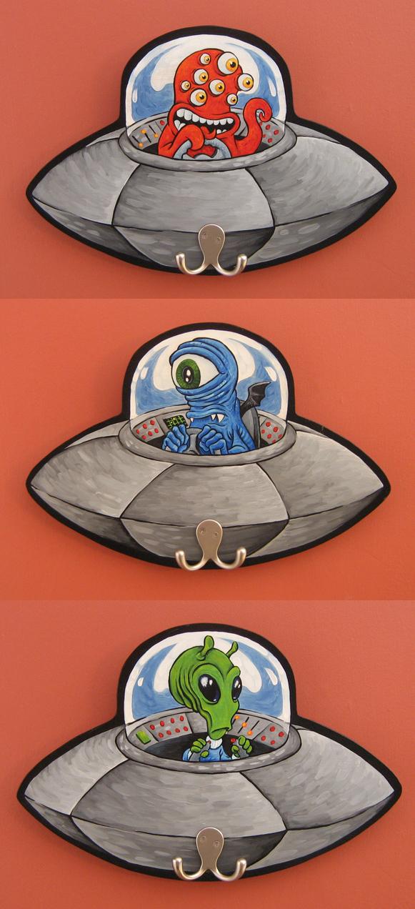 Saucer buddies by ATLbladerunner