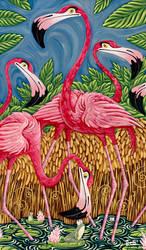 Flamingos by ATLbladerunner