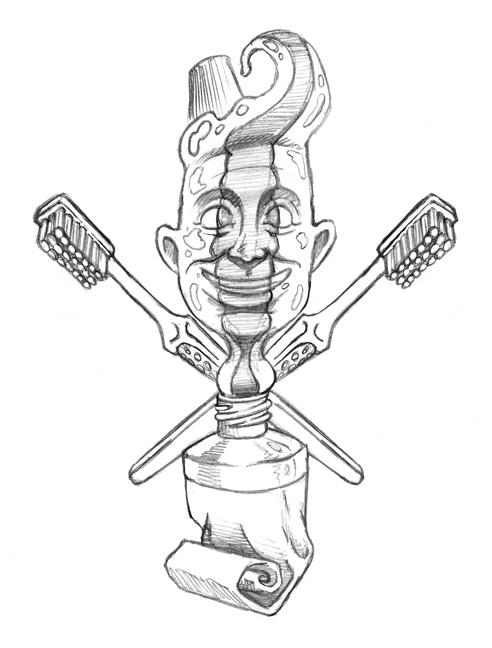 Toothpaste Man by ATLbladerunner