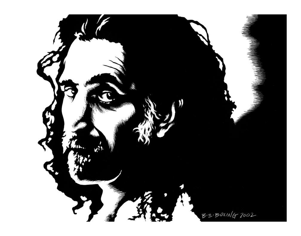 frank zappa by ATLbladerunner