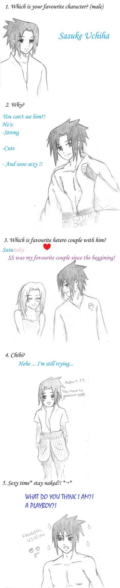 Favourite Character Meme by HitoriLoveNejiHina