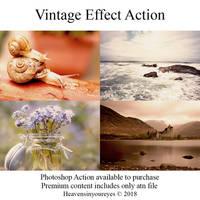 Vintage Effect Action. by Heavensinyoureyes