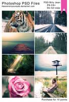 Photoshop PSD Files: PSD Billy jean PS+ by Heavensinyoureyes
