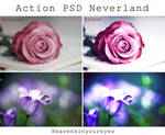 Neverland - Photoshop Action + PSD.