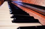Piano keys - Stock
