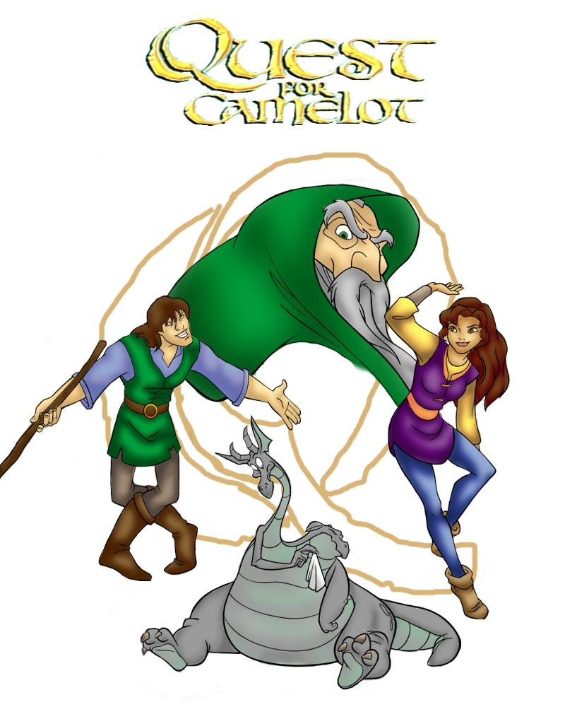 Quest for camelot id by vanillacoke disney on deviantart for Quest for camelot coloring pages