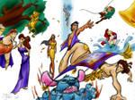 Disney Sketch Dump Color