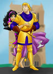 DC - Phoebus and Esmeralda (color)