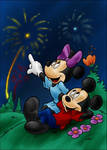 DC - Mickey and Minnie (color)