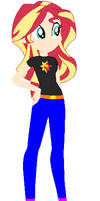 Human Sunset Shimmer by Sturk-Fontaine
