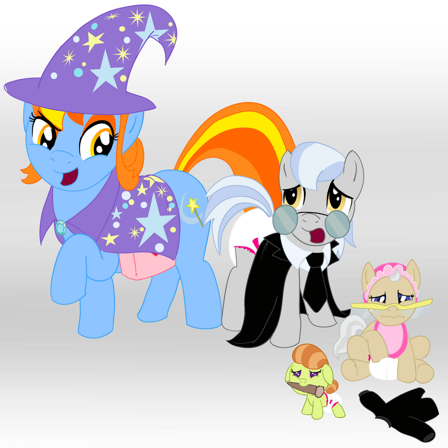 Nightmare Night Nanny by Hourglass-Sands on DeviantArt