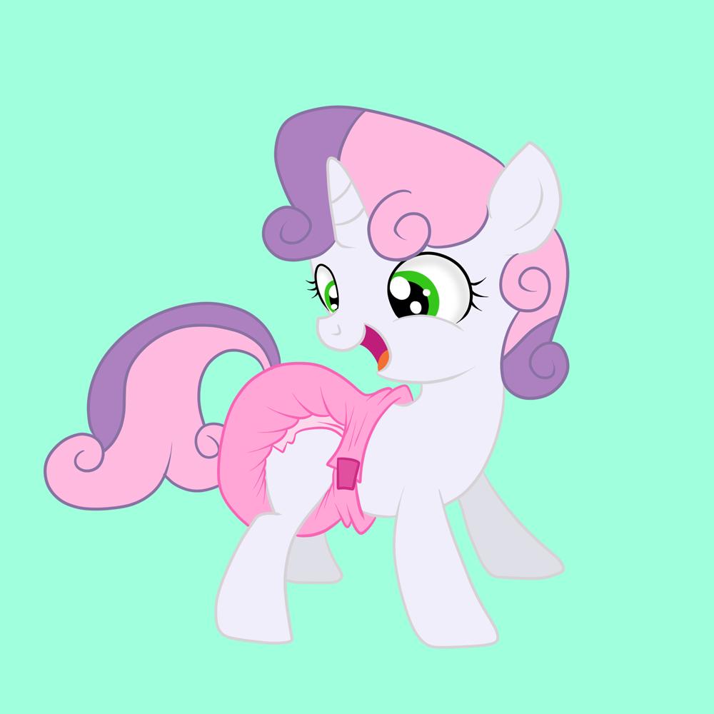 Sweetie Belle Diaper