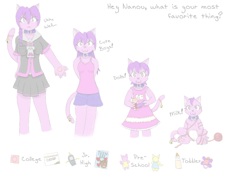 Nanou Age Sequence By Hourglass-Sands On DeviantArt