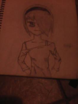 a drawing of mine. Un dibujo mio
