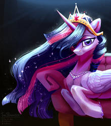 Your new Queen by TeaFlower300
