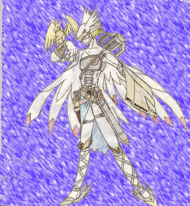 Digimon: Valkyrimon By Ladydevilman On DeviantART