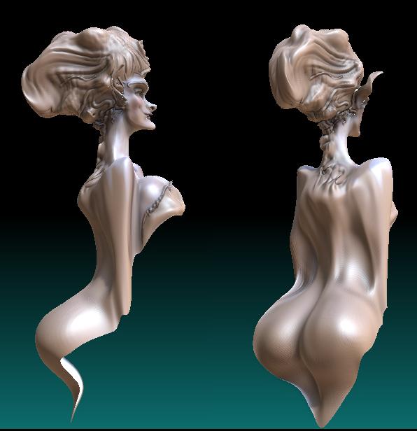 Witch Body by Messerkampf