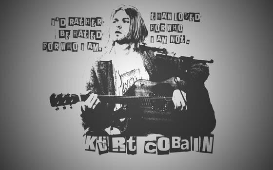 Kurt Cobain / Nirvana Wallpaper by PiroRM