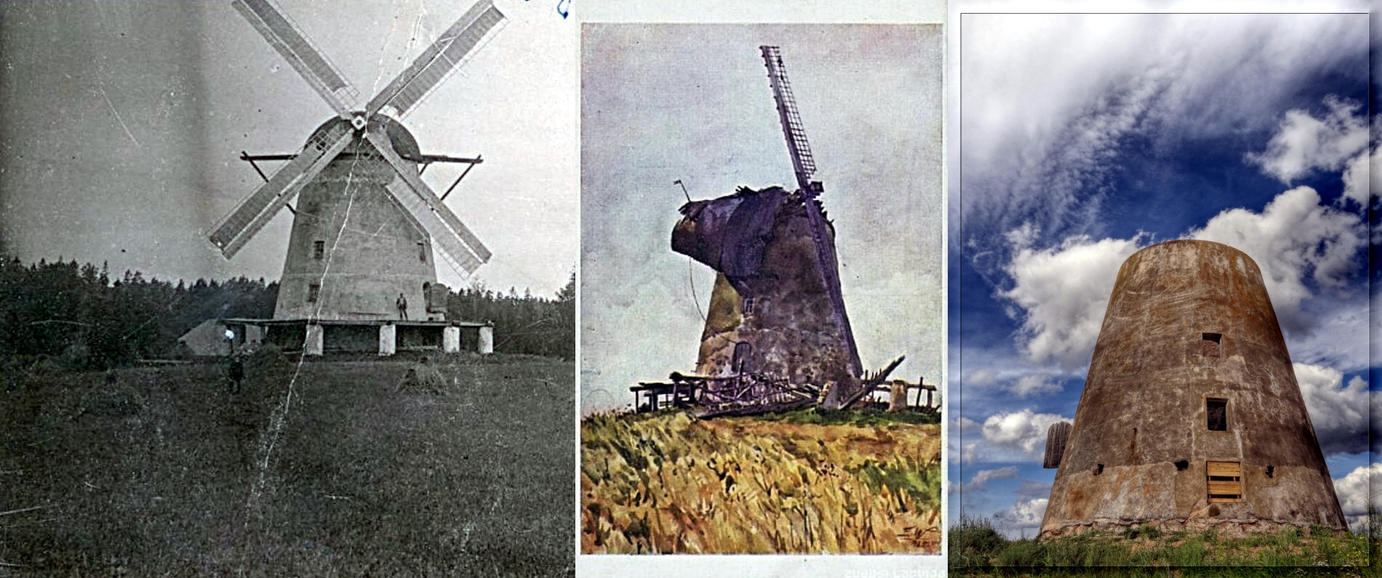 A story of one windmill... by Yancis