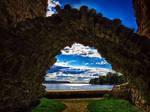 Koknese castle ruins...
