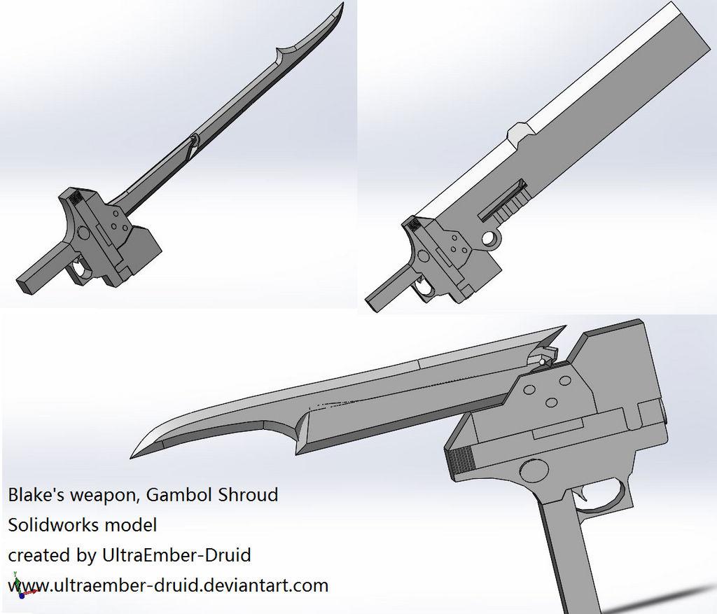 Blake's Gambol Shroud 3Dmodel(not finished yet)