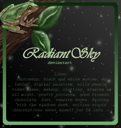 RadiantSky's Profile Picture