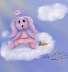 Stuffed Bunny by RadiantSky