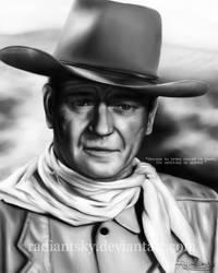 John Wayne by RadiantSky