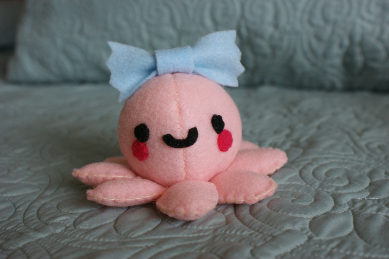 Baby Octopus Plushie + Tutorial~Template Link by NinaFoFina on ...