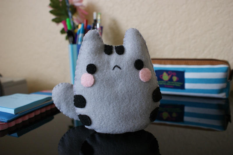 felt plushie templates baby pusheen plushie tutorial template link by