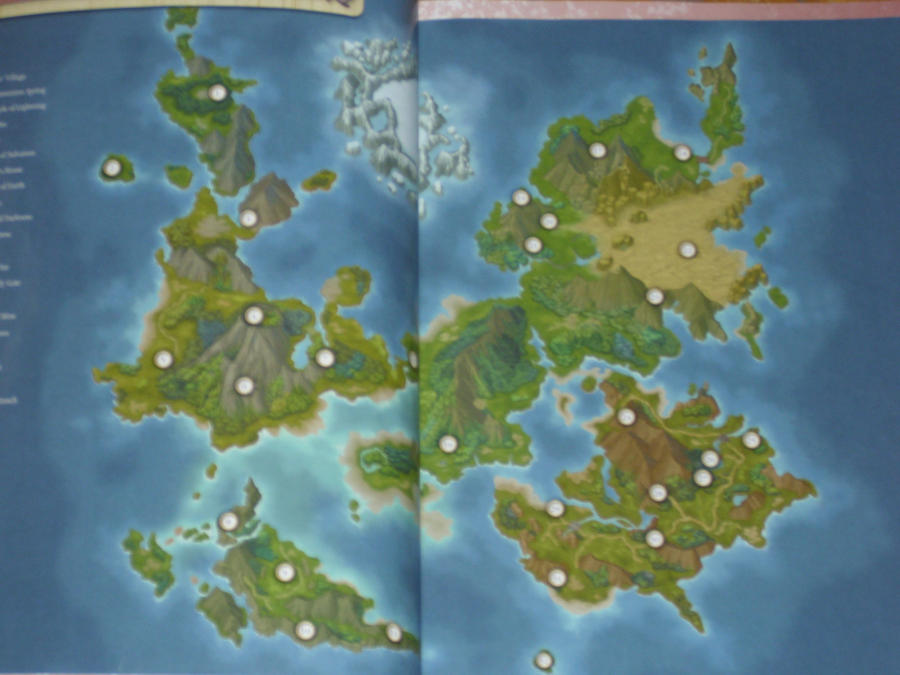 Tales of Symphonia 2 map by JuliePercevent on DeviantArt on
