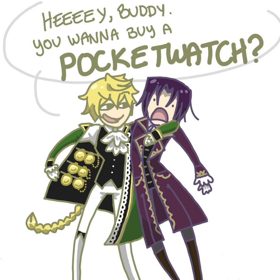 You wanna buy a POCKETWATCH? by Noodlearmcat