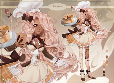 cute baker adoptable