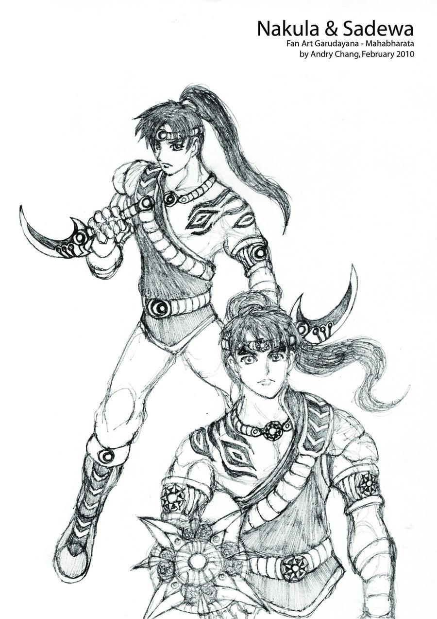 Nakula and Sadewa