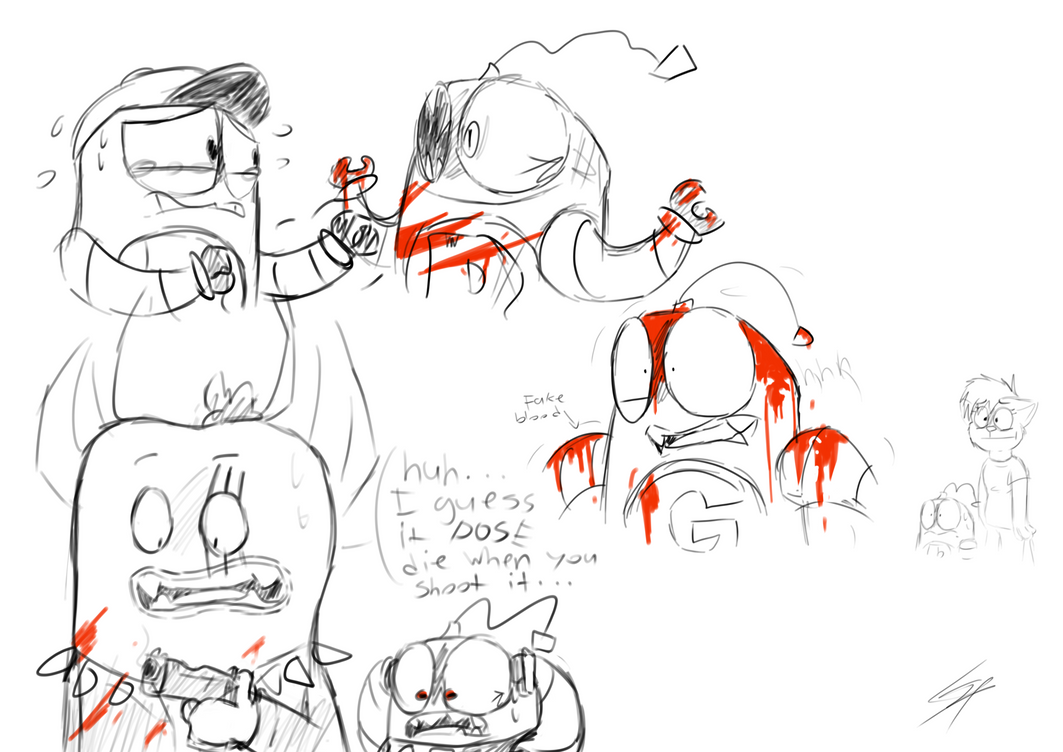 bloody mess by punnyredpanda27