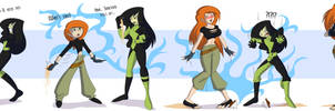 Kim Possible_Age Swaps by TFSubmissions