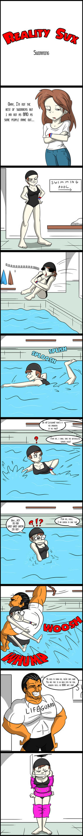 Reality Sux_Swimming by TFSubmissions
