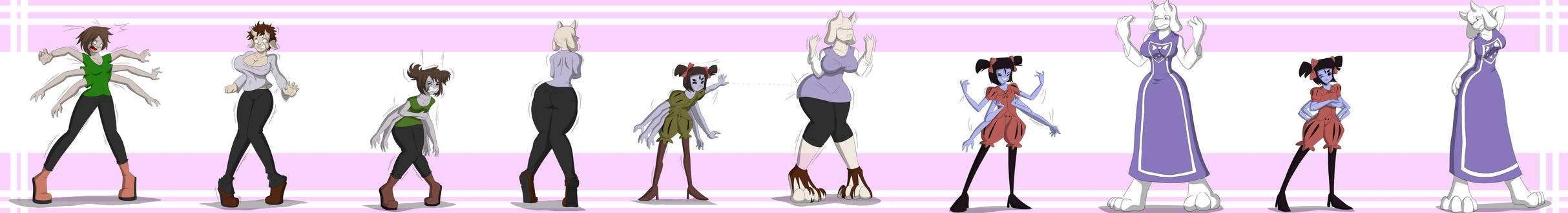 A Tall Tale Undertale Tg Tf Sequence By Tfsubmissions On Deviantart
