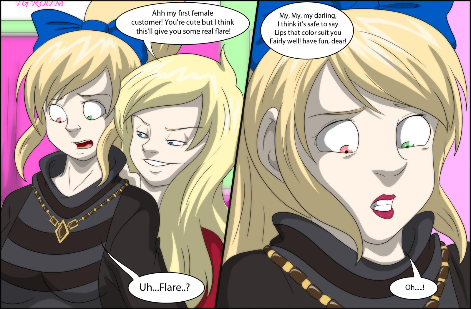 Sisterly Brother TG_Page 24 by TFSubmissions on DeviantArt