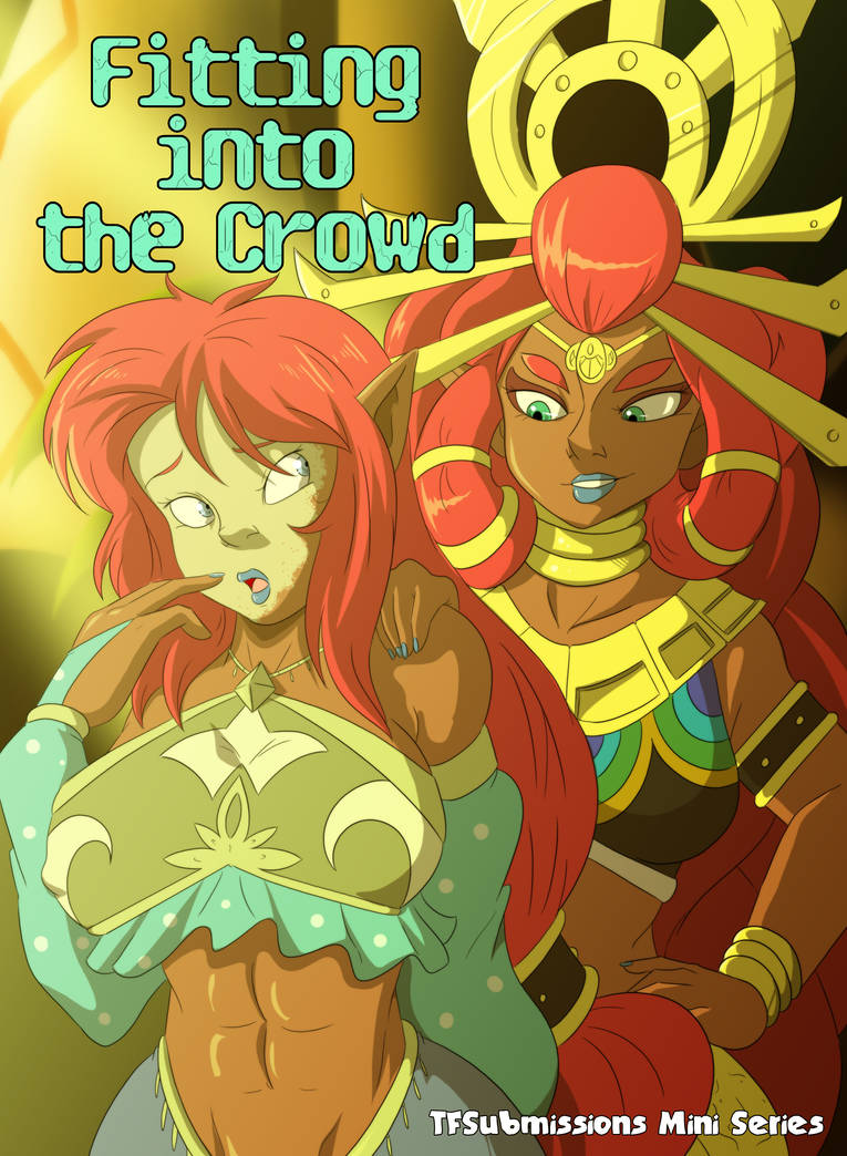 Fitting into the Crowd TG_Front Cover