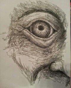 i'm watching you! by donaldhoward58